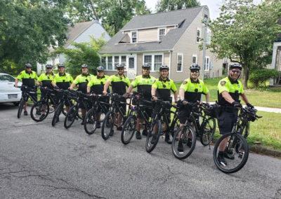 Bicycle sheriffs
